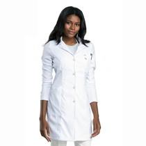 Jaleco Feminino Suit Branco - Dra. Cherie