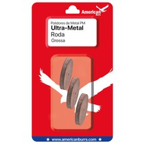 Polidor de Metal Ultra-Metal Roda PM - American Burrs