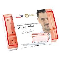 Kit Dr.Thiago Ottoboni Polidores para Resina Composta - American Burrs