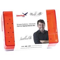 Kit Prof. Dr.Raphael Monte Alto Advanced para Cerâmica - American Burrs