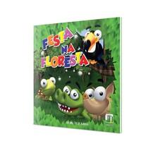 Livro Infantil Festa na Floresta - Editora Napoleão