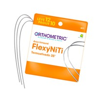 Arco Termoativo Flexy NiTi Thermal 35° Redondo - Orthometric