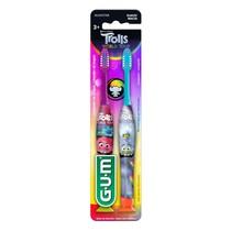 Escova Dental Infantil Trolls Manual - Sunstar