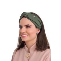 Touca 2 em 1 Veneto Verde Militar - Dra. Cherie