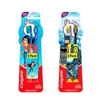 Escova Dental Infantil Batman/Mulher Maravilha - Colgate
