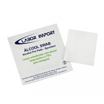 Lenço Umedecido com Álcool Isopropílico 70% - Labor Import