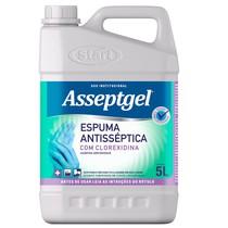 Higienizador Asseptgel Espuma com Clorexidina - Bianco