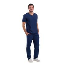 Scrub Masculino Basic Azul Marinho - Dra. Cherie