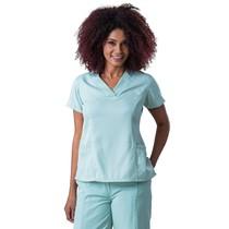 Scrub Blusa feminina decote V Gabardine Verde - Namastê
