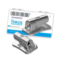 Tubo Advanced Simples Cola Edgewise/Rickets 022 Kit - Orthometric
