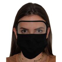 Máscara com Viseira Branca - Dona Filó