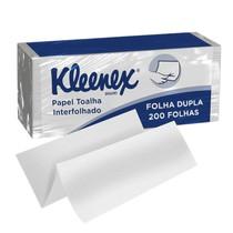 Papel Toalha Interfolhado Folha Dupla - Kleenex®