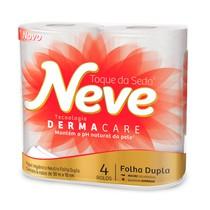 Papel Higiênico Dermacare Folha Dupla Rolo - Neve®