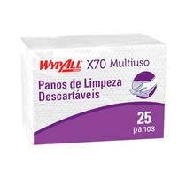 Pano de limpeza X70 Interfolhado - WypAll®