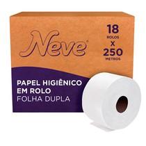 Papel Higiênico Folha Dupla Rolo - Neve®