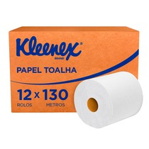 Papel Toalha Airflex Folha Simples Rolo - Kleenex