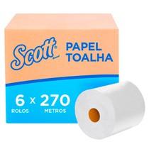 Papel Toalha Folha Simples Rolo - Scott®