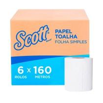 Papel Toalha Essential Folha Dupla Rolo - Scott®