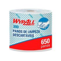 Pano de Limpeza X60 Rolo Jumbo Azul - WypAll®
