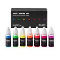 Corantes Fluorescentes Para Cerâmica 7 Cores Sortidas Ref. 5200 - Smile line