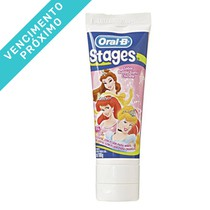 VENC 30/04/2021 Creme Dental Stages Princesas - Oral-B
