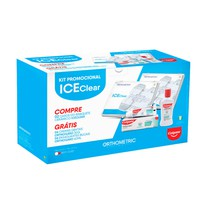 Bráquete Cerâmico Ice Clear Roth 022 + Kit Colgate - Orthometric