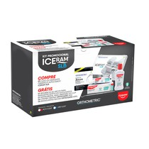 Bráquete Cerâmico Autoligado Iceram SLB MBT 022 + Kit Colgate - Orthometric
