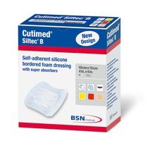 Espuma de Silicone Cutimed Siltec B com Borda 10x10cm - Essity