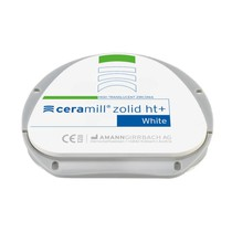 Disco CAD/CAM Ceramill Zircônia Zolid HT+ White 71 - AmannGirrbach
