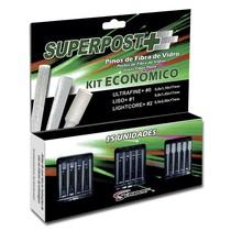 Pino de Fibra de Vidro Superpost+ Kit Econômico - Superdont