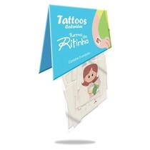 Tatuagem Infantil - Turma da Ritinha