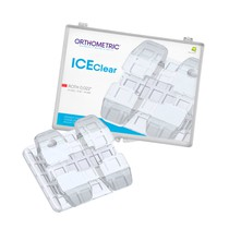 Bráquete Cerâmico Ice Clear Roth 022 Kit - Orthometric