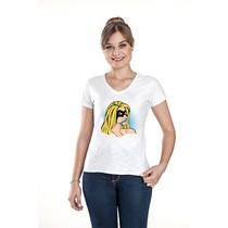 Camiseta Feminina Super Heroína - FunWork
