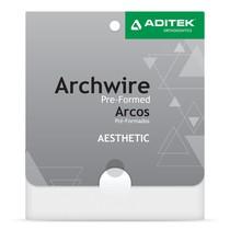 Arco de Aço Estético Off White Redondo - Aditek