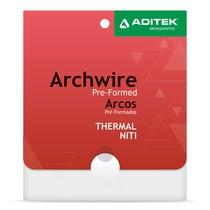 Arco NiTi Termoativado 27° Memoflex BioSlide Retangular - Aditek