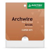 Arco Termoativado Cuper NiTi 27° Damon Retangular - Aditek