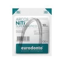 Arco NiTi Superelástico Quadrado - Eurodonto