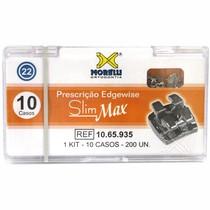 Bráquete de Aço Edgewise Slim Max 022 Kit - Morelli