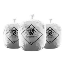 Saco de Lixo Hospitalar 15L - Azeplast