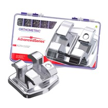 Bráquete de Aço Advanced Series Roth 022 Kit - Orthometric