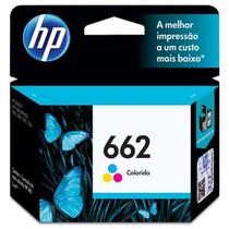 Cartucho de Tinta Original 662 Color Ink Advantage - HP