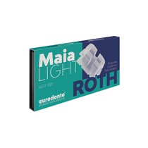Bráquete Cerâmico Maia Light Roth 022 Kit - Eurodonto