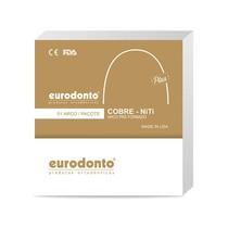Arco Termoativado Cobre NiTi Plus Universal Retangular 35° - Eurodonto