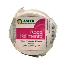 Roda para Polimento Flanela - Asfer
