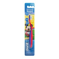Escova Dental Infantil Stages 2 Mickey e Minnie - Oral-B