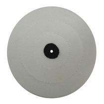 Roda para Polimento Flanela Branca - Kota Knebel