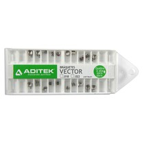 Bráquete de Aço Vector Jorge Rodrigues Bidimensional 018 e 022 Kit - Aditek