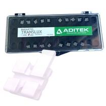 Bráquete Cerâmico Translux Padrão I 022 Kit - Aditek