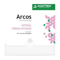 Sequência de Arcos NiTi Termoativados Bioclip - Aditek