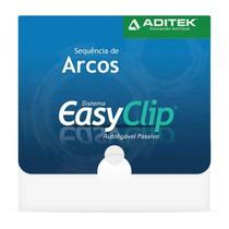Sequência de Arcos NiTi Termoativados 35° Contour EasyClip - Aditek